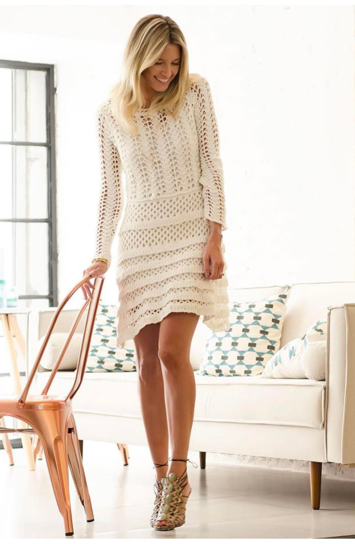 ae5efaae63bb Vestido-Trico-Renda-Off-White | Galeria Tricot - Galeria Tricot